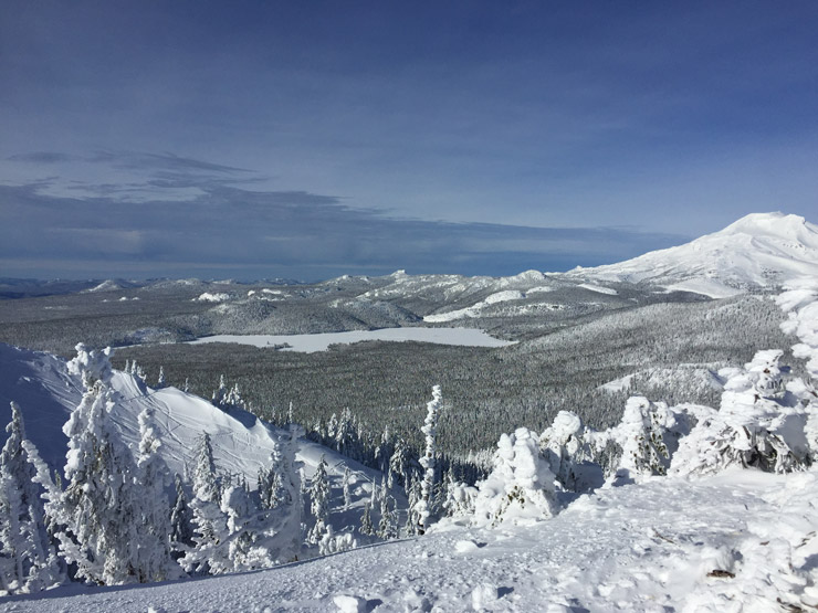View from Top of Cinder Cone at Mt. Bachelor