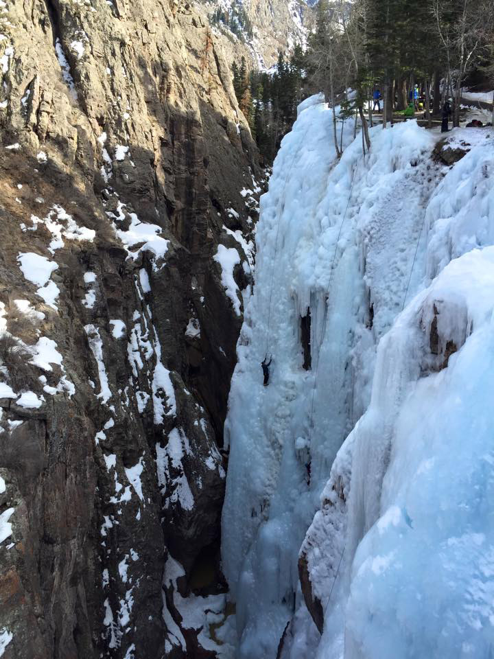 Ouray Ice Park - Verminator