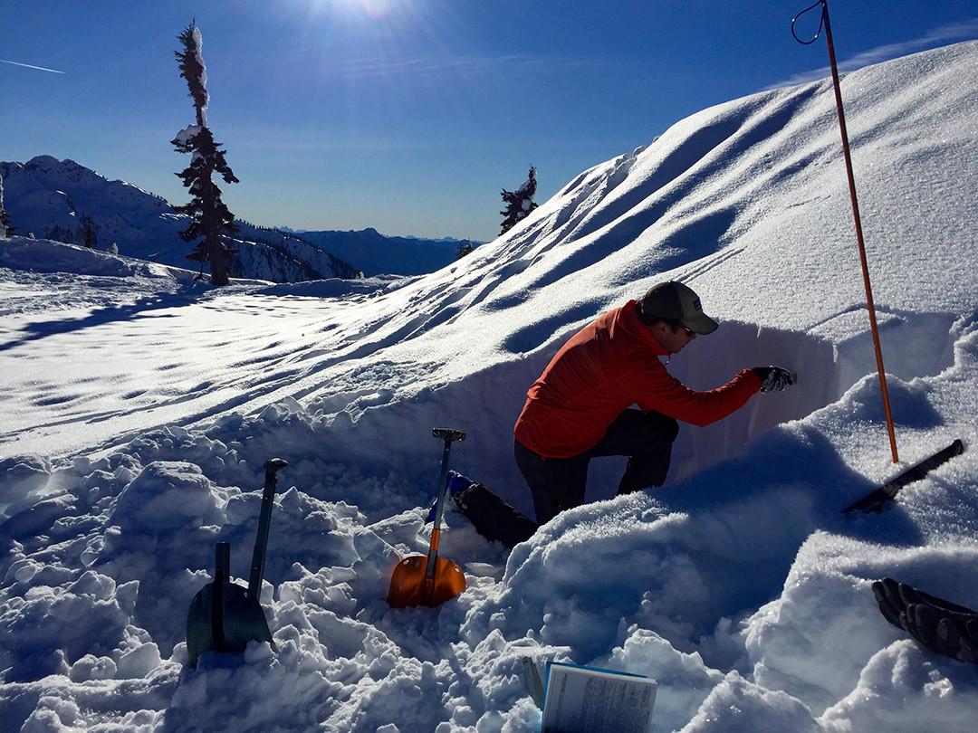 Snow pit evaluation
