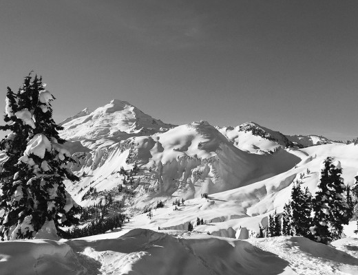 Mt. Baker view from Artist Point