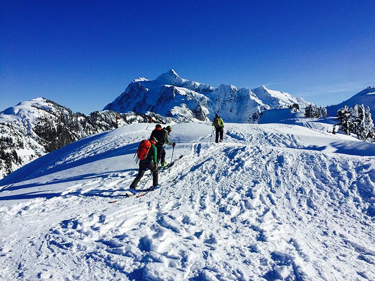 Mt. Baker ski tour