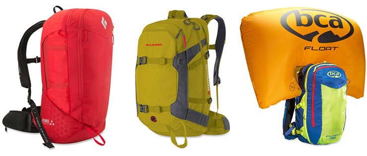 avalanche airbag packs
