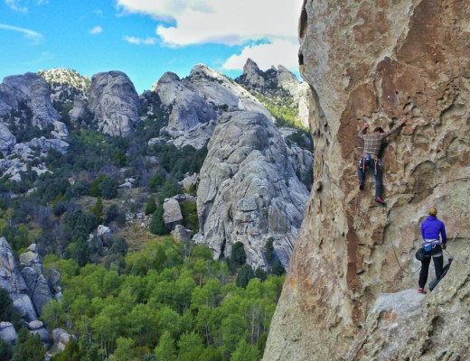 Tribal Boundaries - Rock climbing City of Rocks