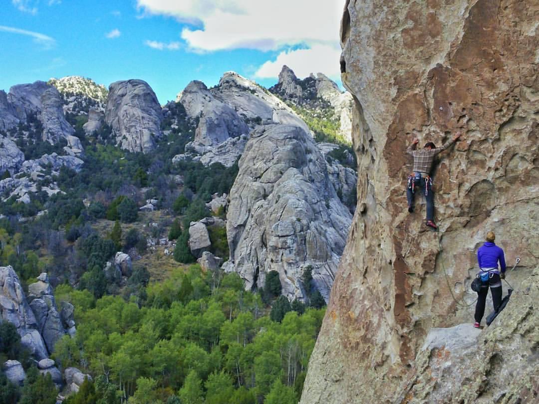 Tribal Boundaries - Rock climbing City of Rocks