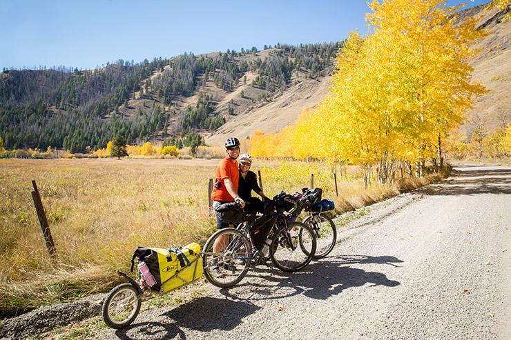 Hot Spring Bike Ride, Idaho