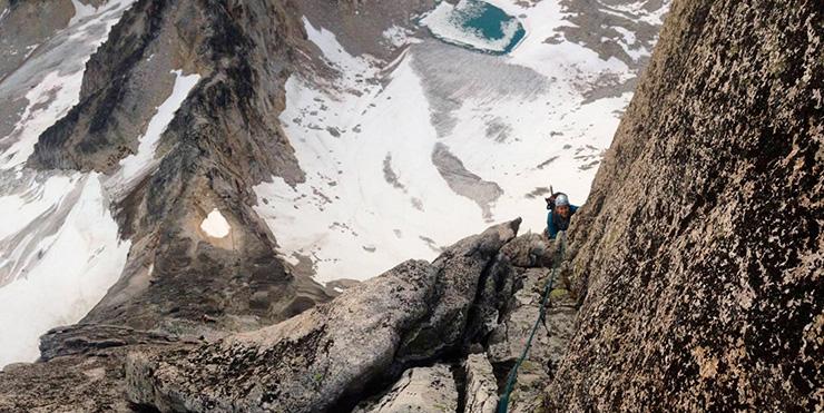 NE Ridge Bugaboo Spire climb