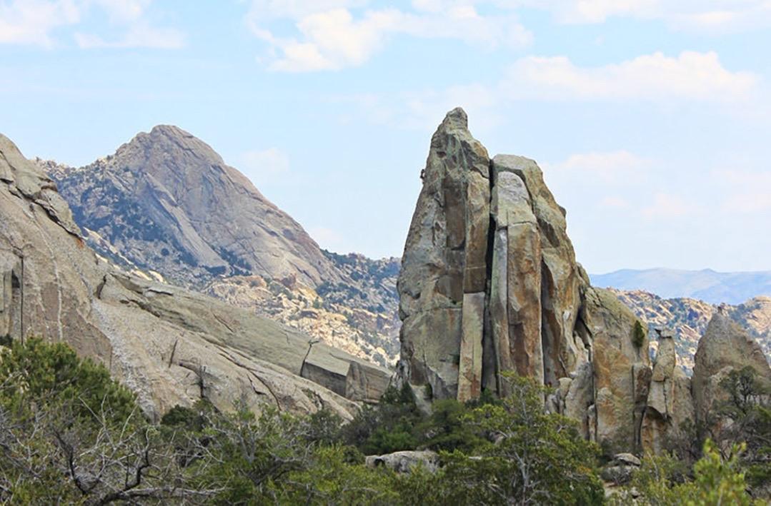 skyline climb city of rocks