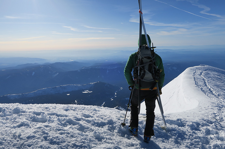 Brian Mt. Hood Summit