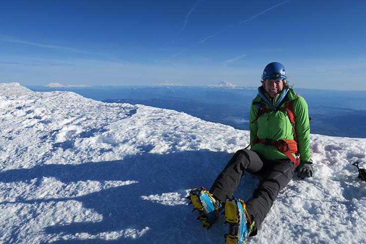 Sara Mt. Hood Summit