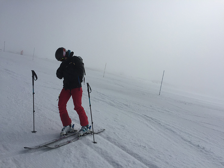 Summer Skiing at Timberline
